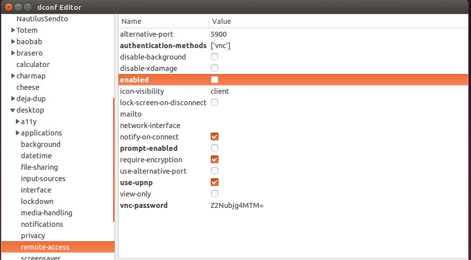 Remote Access with Vino-Server (Ubuntu 14 04 – 15 10 – 16 04