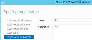 Configure iSCSI SAN in Server 2012 R2