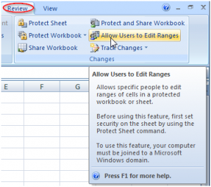 Excel - Allow Certain Users to Edit Cells Range