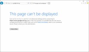 Internet Explorer 11 - SChannel - The internal error state is 10013