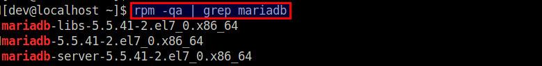 Check mySQL and MariaDB Server Version