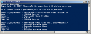 Powershell - Check and find the product GUID of an installed MSI setup