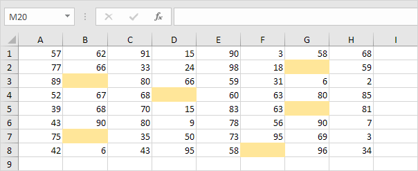 Excel - If cell is not blank (Formula & VBA)