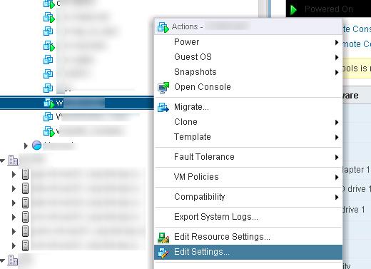 VMware ESX - Shared Disk Between VMs FACEBOOK