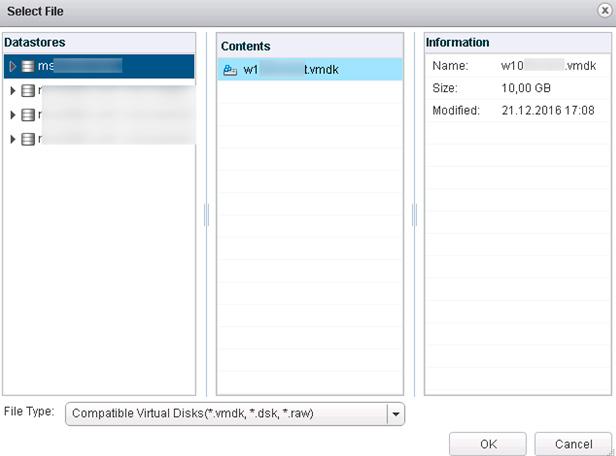 VMware ESX - Shared Disk Between VMs