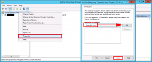 Active Directory - Changing UPNs for all Domain Users