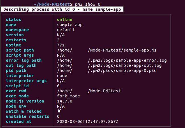 Run node.js app as a daemon process (Linux)